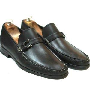 Salvatore Ferragamo Mens Side Gancini loafers 10.5